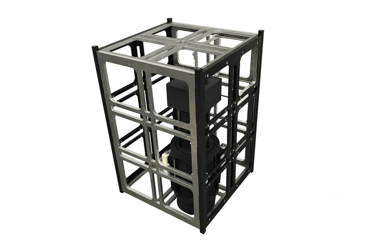 12-Unit CubeSat structure