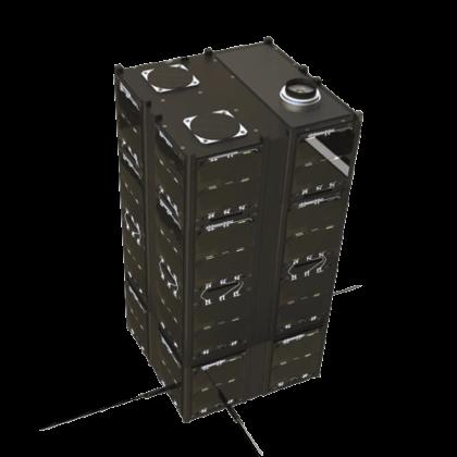 16-Unit CubeSat structure