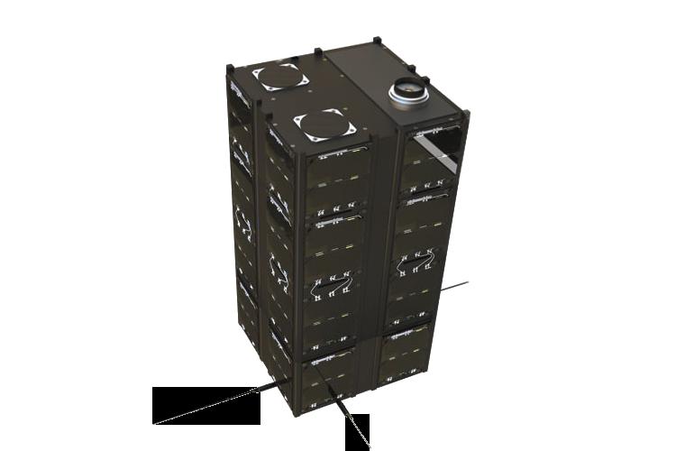 16-U CubeSat structure