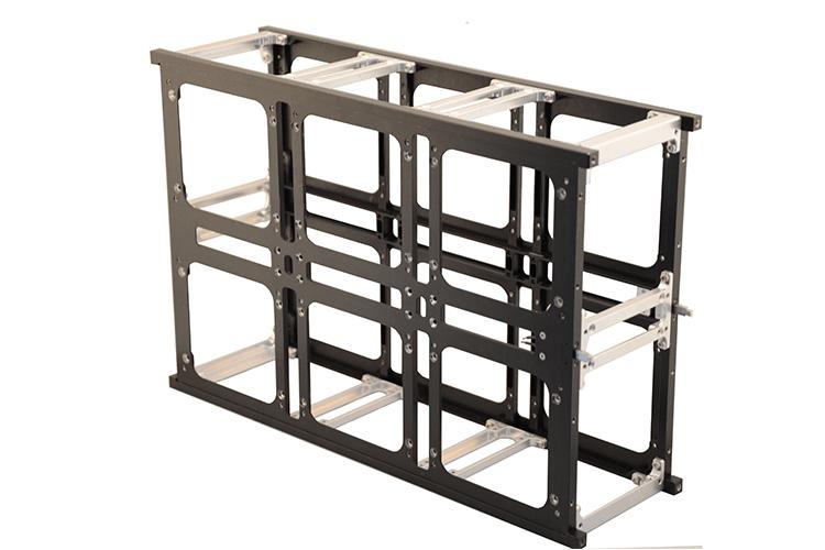 6 unit cubesat structure