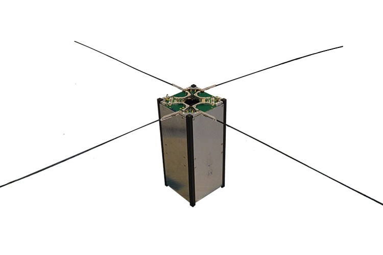 Turnstile antenna for cubesats
