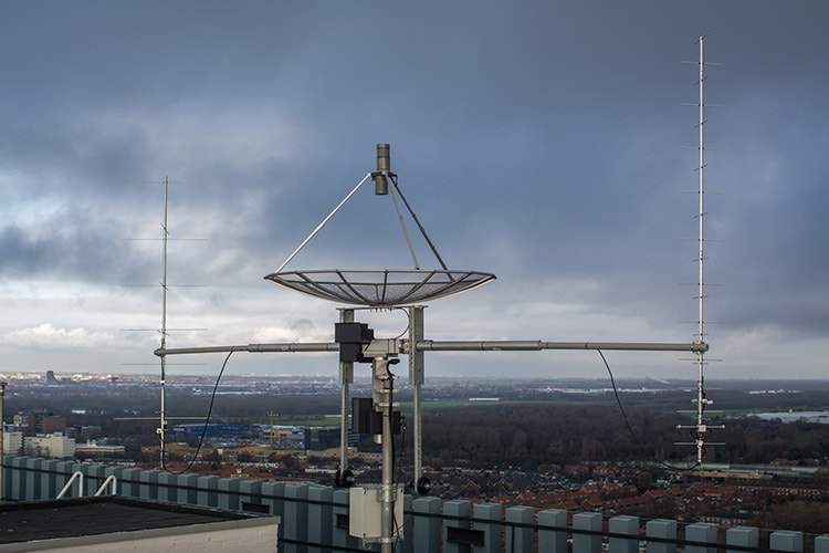 Full VHF UHF S-band Ground Station kit