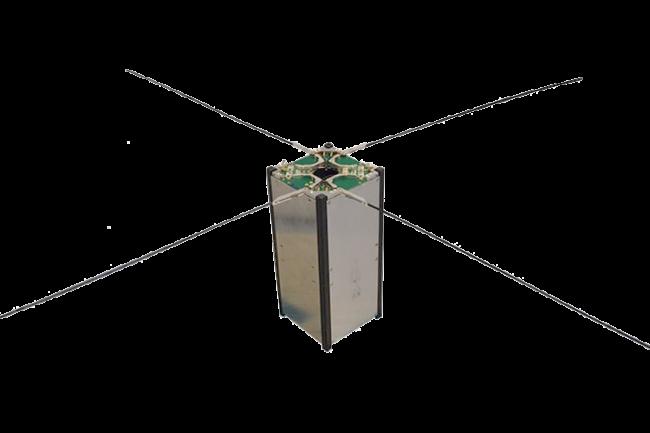 ISIS CubeSat turnstile antenna system