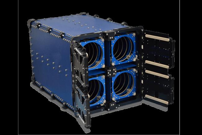 ISIS QuadPack 12U CubeSat deployer