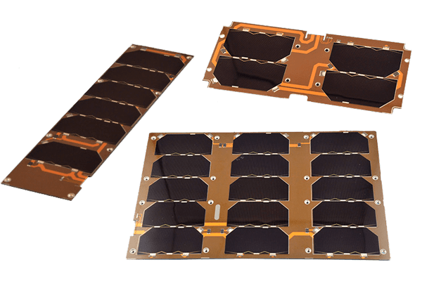 ISIS Single cubesat solar panels