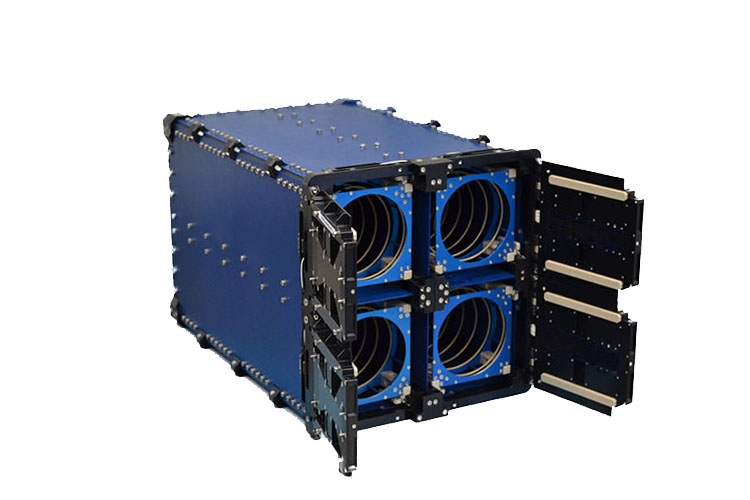 Quadpack Cubesat Deployer Isis Innovative Solutions In