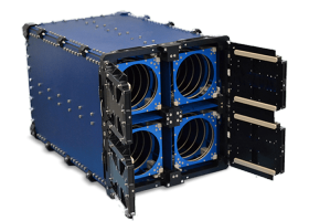 Quadpack cubesat deployer