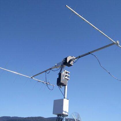 UHF VHF ground station