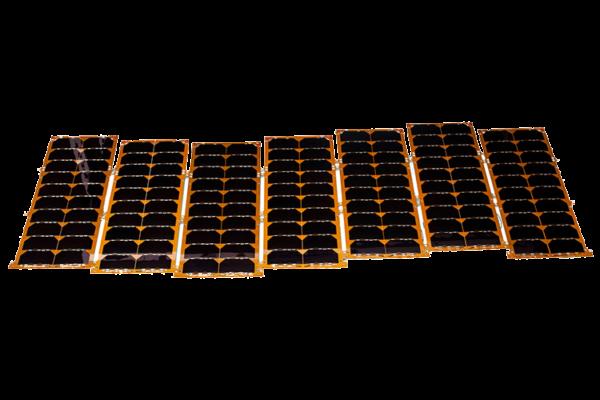 Custom solar panels cubesats nanosats