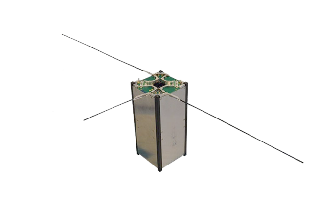 ISIS CubeSat hybrid antenna system