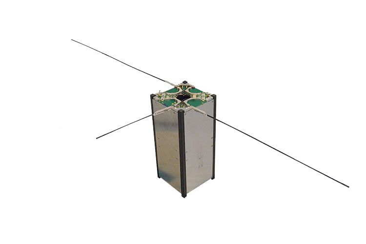 ISIS CubeSat hybrid antenna system