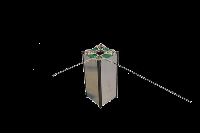 ISIS CubeSat monopole antenna system