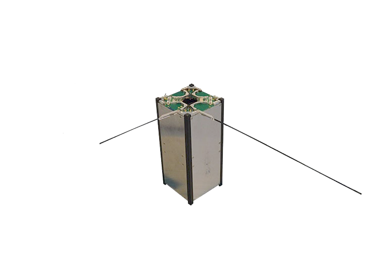 ISIS CubeSat monopole antenna system