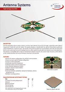 ISIS Antenna systems brochure