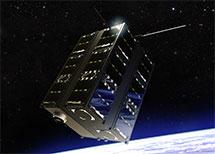ISIS 12U cubesat rendering space