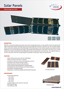 Solar panels brochure