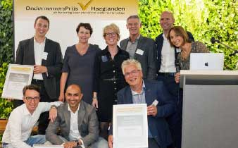Entrepreneur's prize Haaglanden