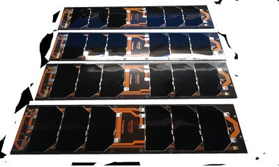 cubesat solar panels