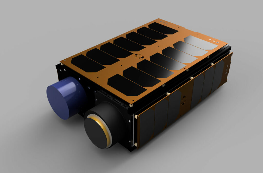 An ISISPACE 6U CubeSat
