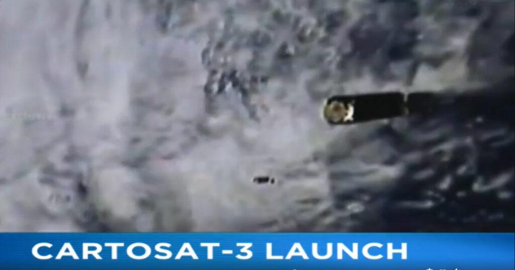 cartosat-3 launch
