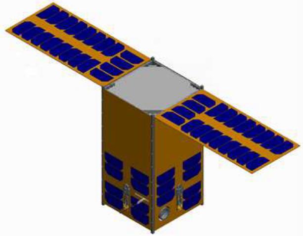 12u-16u cubesat platform rendering