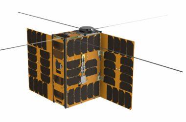 6U CubeSat Platform rendering